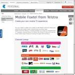 Mobile Foxtel Free for 1 Month on iPhone/iPad/Android (Telstra Accounts)
