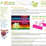 Oz Labels, 10% OFF Storewide. 2013 Back-to-School Bargain! Free Shipping in 24 hrs