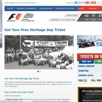 Australian F1 Grand Prix - FREE General Admission Tickets for Thursday Entry (March 14)!