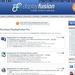 30% off Display Fusion a Really, Really Good Multiple Monitor Management Program, $17.50