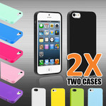 2x iPhone 5 TPU Rubber GEL Skin Case Cover Only $1.99 + Free Postage!