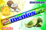 10 Rolls Mentos Dual Flovour Chewy Dragees $5.98 Delivered
