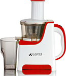 Avancer Red Cold Press Slow Juicer Now $129 RRP $299. Free Delivery