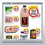 OAK Flavoured Milk 2lt $2.50 (1/2 Price), Streets Blue Ribbon 2lt $4 (Save $2.99) @ Coles 21 May