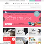 10% off Site Wide Adairs - Click Frenzy Preview