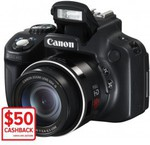 Canon SX50 UltraZoom Camera $199 +$4.95 Delivery (After $50 Canon Cashback Offer) 12-2pm EST DSE