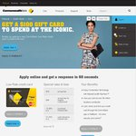 Open a CommBank Low Rate Credit Card Get a $100 Iconic Voucher ($78 Annual Fee)