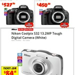 Nikon D5300 DSLR Body $527, Nikon D5200 DSLR Body $451, Canon EOS 600DKIS 18MP $456 - After $100 Cash Back Each @ JB Hi-Fi