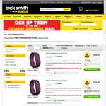 Fitbit Charge HR on Sale at Dick Smith (Black Large: $144.85, Plum: $120.35) Pickup Available