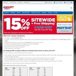 Amart Sports 15% off Sitewide + Free Shipping over $75
