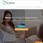 Try My Postman for 50% off - After Hours Package Delivery (Adelaide & Gold Coast)