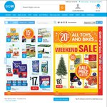 Big W Weekend Sale, 25% off Blu-Ray DVDs, 50% off Schick, 20% off Toys and Bikes