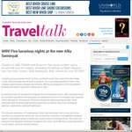 Win a 5 Night Stay at Alila Seminyak Resort, Bali (Inc Breakfast) from Travel Talk Mag