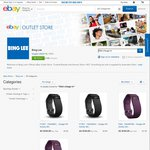 Fitbit Charge HR - $139.40 in-Store Pick up @ Bing Lee after eBay Coupon