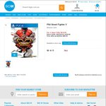 Street Fighter V for PS4 $64 @ BIG W - 2 Day Deal