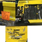 Stanley 117 Piece Tool Set for $20 at Bunnings Warehouse