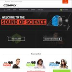 Comply Foam (Earphone) Tips Buy 2 Get 1 Free + 20% Coupon