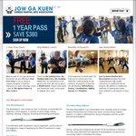 1 Year Free Kung Fu Classes at Jow Ga Kuen VIC Only