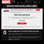 Free Digital Copies of 5x Marvel Comics (Ghost Rider, Black Panther, Moon Girl and Devil Dinosaur, Dr. Strange, Powerman)