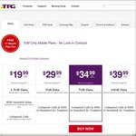 TPG SIM Only Mobile Plans - No Lock-in Contract - First Month Free - Minimum Charge $10