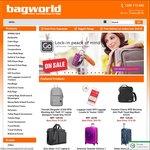 5% off Coupon Code at Bagworld.com.au Min Spend $49.95