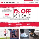 50% off Everything at New Balance