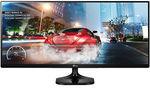 """LG 34UM57 34"""" UltraWide 21:9 IPS (2560x1080) LED Freesync Monitor $283.21 USD / $381 AUD @ buydig on eBay"""