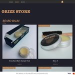 Grizz Beard Balm - Buy 1 for $35 & Get 1 Free + $8.75 Shipping