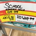 40% to 60% off at Payless Shoes. E.g. School Grosby Was $50 Now $30