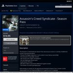 [PS4] Assassin's Creed Syndicate - Season Pass $14.95 @ PlayStation Store (AU)