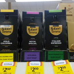 Robert Timms Nespresso Compatible Pods 10 Pack (3 Varieties Available) $2.50 @ Coles