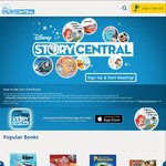 20 FREE Disney eBooks (& 16 more with a VPN) @ DisneyStoryCentral.com (+ iOS and Android App)