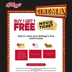 Buy a Specially Marked Box of Kelloggs Cereal, Claim 2 Movie Tickets for $23