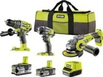 RYOBI 18V ONE+ 3-Piece Brushless Kit $499 @ Bunnings