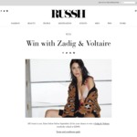 Win a $2,000 Zadig & Voltaire Gift Card from RUSSH