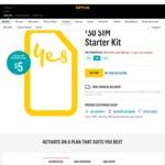 $30 SIM Starter Kit for $5 Delivered @ Optus