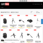 10% OFF All Manfrotto Products @ Cambuy Camera Store