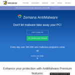 Free Zemana AntiMalware Premium 751 Days License (Value US $49.99)