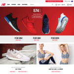 40% off New Balance Full Priced Items @ New Balance Online Store