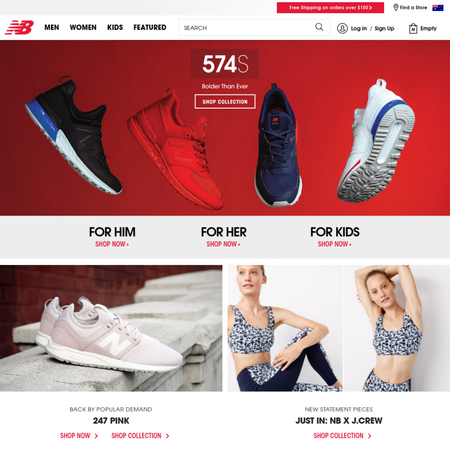new balance sale ozbargain