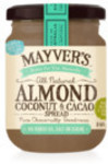 ½ Price Mayver's Varieties - Tahini Spread 385gm $2.63, Peanut Spread 375gm $2.99, Coconut & Cacao Spread 240gm $4.25 @ Coles