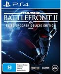 Star Wars: Battlefront II (PS4, Xbox One, PC Game) - $62 - 17 November 2017 Only @ JB Hi-Fi
