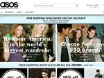 ASOS - Free Delivery Worldwide for Christmas
