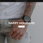 50% off Men's Minimalist Watches & Fashion Accessories + Free Shipping @ Matte Black Online