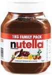 Nutella 1kg $5.25 (1/2 Price) @ BIG W