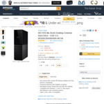 WD 8TB My Book Desktop HDD (Believed to Be White-Labelled WD RED) $189 USD (~ $238 AU) Shipped @ Amazon US