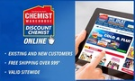 $10 Chemist Warehouse Online Voucher for $3 (No Click & Collect, Free Delivery with Shipster or $99+ Spend) @ Groupon