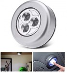 Mini Touch Sensor LED Adhesive Night Light for Closet Cabinet Wall USD $0.59 (~ AUD $0.74) Delivered @ Zapals