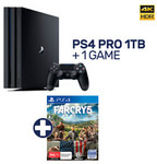PlayStation 4 Pro 1TB Console + Far Cry 5 - $454.15 Delivered @ EB Games eBay