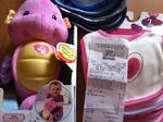 Cheap Bibs and Fisher Price Sea Horse @ Coles
